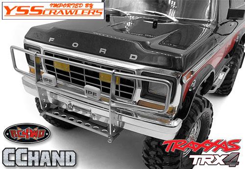 RC4WD ランチ フロント グリルガード for Traxxas TRX-4![BRONCO][シルバー][IPF]