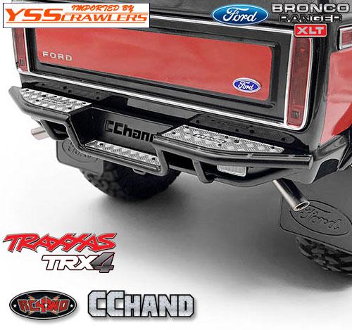 RC4WD ランチ リアステップバンパー for Traxxas TRX-4![BRONCO][ブラック]