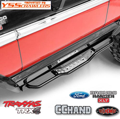 RC4WD ランチ サイドステップスライダー for Traxxas TRX-4![BRONCO][ブラック]