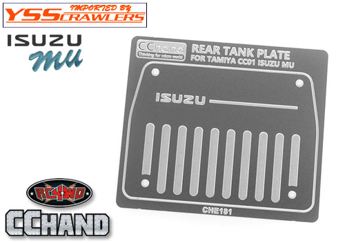 Fuel Tank for Tamiya 1/10 Isuzu Mu Type X CC-01