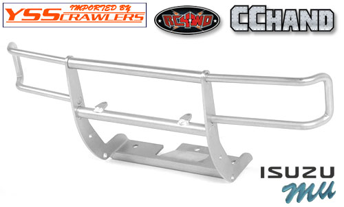 Ranch Front Grille Guard for Tamiya 1/10 Isuzu Mu Type X CC-01 (Silver)