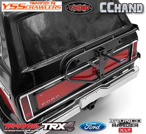 RC4WD キング タイヤホルダー for Traxxas TRX-4![BRONCO][ブラック]