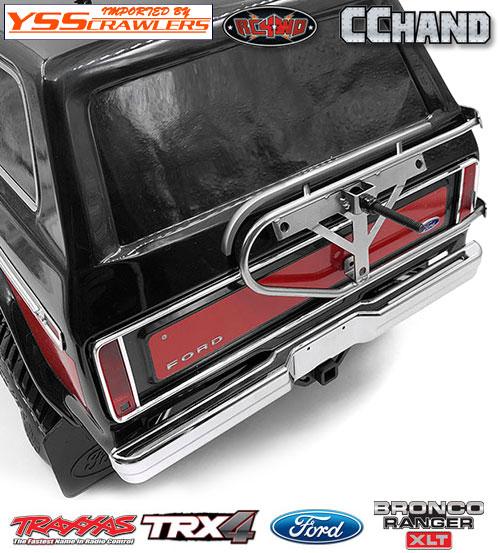 RC4WD キング タイヤホルダー for Traxxas TRX-4![BRONCO][シルバー]