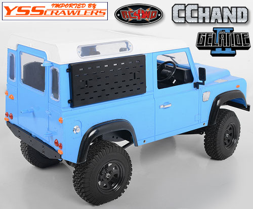 RC4WD アルミ リアウィンドー ガード for ゲレンデ II![D90 - D110]