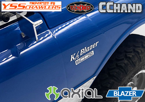 RC4WD K5 Blazerメタルロゴ for Axial Blazer!