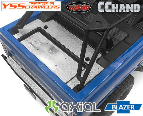 RC4WD リアベッドダイアモンドプレートセット for Axial Blazer!
