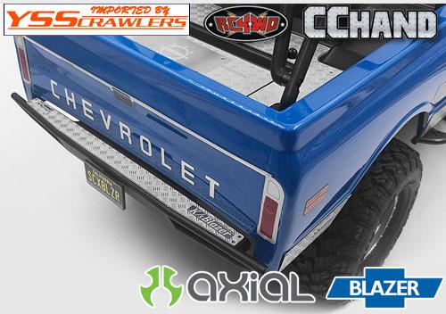 RC4WD リアバンパーダイアモンドプレート for Axial Blazer!