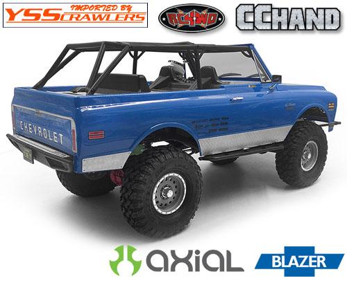 RC4WD サイドダイアモンドプレート for Axial Blazer!