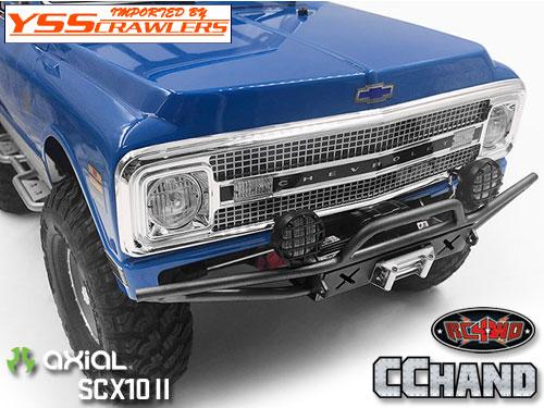 RC4WD ラスター フロント バンパー for Axial SCX10-II [Blazer][ブラック]