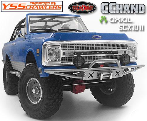 RC4WD ラスター フロント バンパー for Axial SCX10-II [Blazer][シルバー]