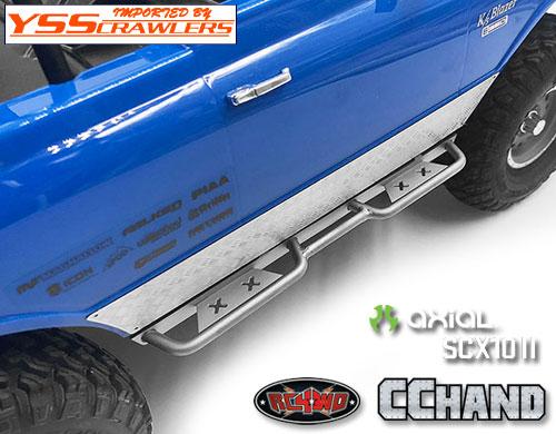 RC4WD ラフスタッフ サイドスライダー for Axial SCX10-II [Blazer][シルバー]
