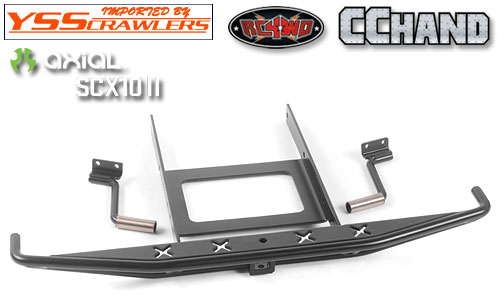 RC4WD Rough Stuff Metal Rear Bumper w/Exhaust Tips for Axial SCX10 II 1969 Chevrolet Blazer