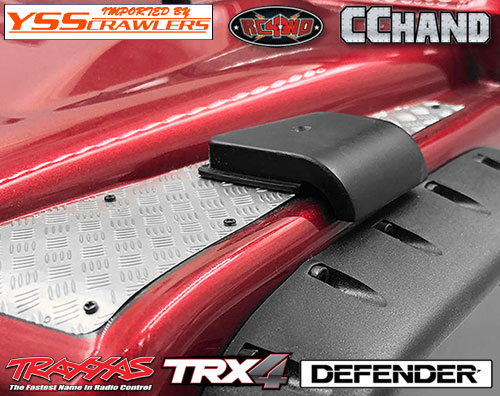 RC4WD エアインテークカバー for Traxxas TRX-4![D110]