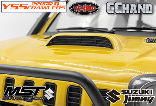 RC4WD Metal Hood Vent for MST 1/10 CMX w/ Jimny J3 Body