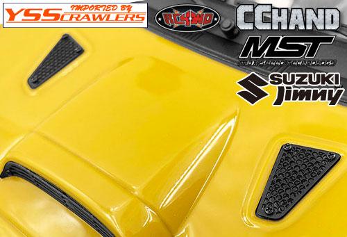 RC4WD メタルボンネット通気口 for MST CMX ジムニー J3!