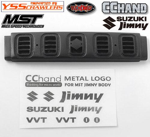 RC4WD フロントグリル&エンブレム for MST CMX ジムニー J3!