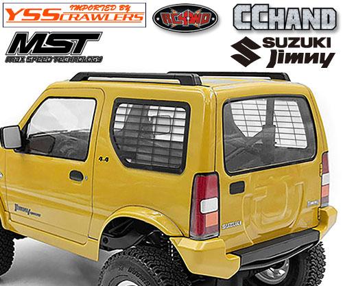 RC4WD サイドウィンドーガード for MST CMX ジムニー J3!