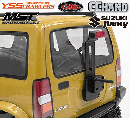 RC4WD ハイマウント ストップランプ for MST CMX ジムニー J3!