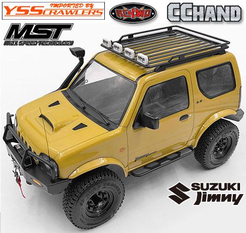RC4WD ルーフラック for MST CMX ジムニー J3!