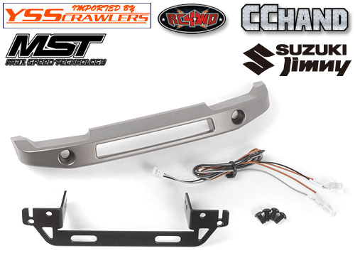 RC4WD Krug Front Bumper for MST 1/10 CMX w/ Jimny J3 Body