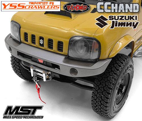 RC4WD KRUG フロントバンパー[ウィンチ可] for MST CMX ジムニー J3!