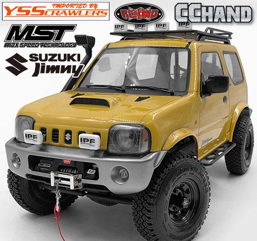 RC4WD SEDOA フロントバンパー[ウィンチ可] for MST CMX ジムニー J3!