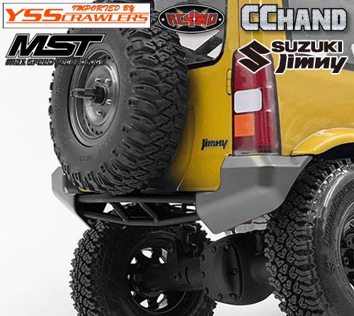 RC4WD Sedoa リアバンパー for MST CMX ジムニー J3!