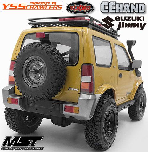 RC4WD Modular リアバンパー for MST CMX ジムニー J3!