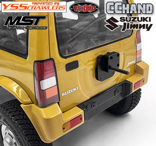 RC4WD No-Fuss タイヤホルダー for MST CMX ジムニー J3!