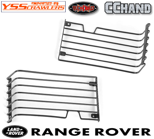 RC4WD Head Light Guards for for JS Scale 1/10 Range Rover Classic Body