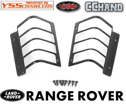 RC4WD Rear Light Guard for JS Scale 1/10 Range Rover Classic Body