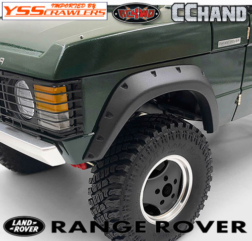 RC4WD Fender Flares for JS Scale 1/10 Range Rover Classic Body