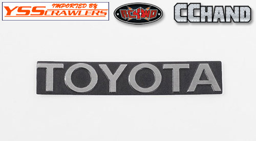 RC4WD Front Steel Toyota Grille Decal