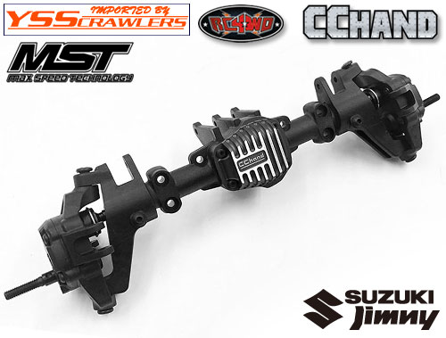 RC4WD Aluminum Diff Cover for MST 1/10 CMX w/ Jimny J3 Body (Black)