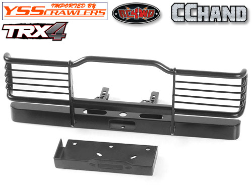 RC4WD キャメルトロフィーフロントバンパー ウィンチ for TRX-4![D110]