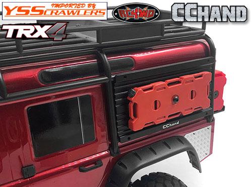 RC4WD オーバーランド装備ウィンドー D燃料セル for TRX-4![D110]