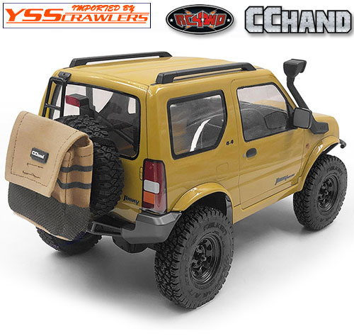 RC4WD Mountable Trash Bag for Spare Tire (Tan)