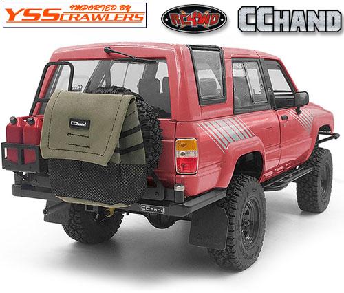 RC4WD トラッシュバッグ for スペアタイヤ![グレー]