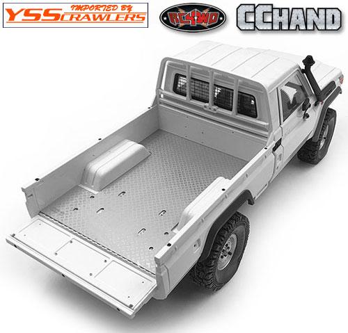 RC4WD 縞鋼板リアベッドプレート for ランクル LC70!