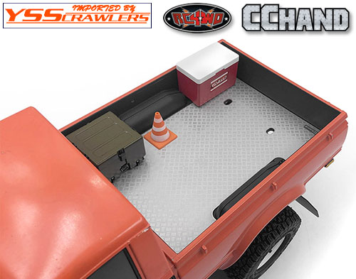 RC4WD 縞鋼板リアベッドプレート for ハイラックス!