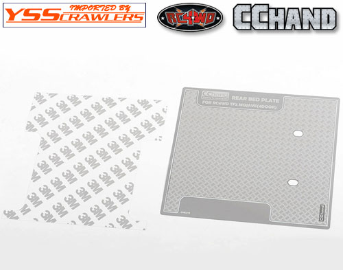 RC4WD Diamond Plate Rear Bed for RC4WD Trail Finder 2