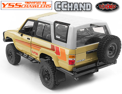 RC4WD Velbloud Rear Bumper w/Tire Carrier for 1985 Toyota 4Runner Hard Body