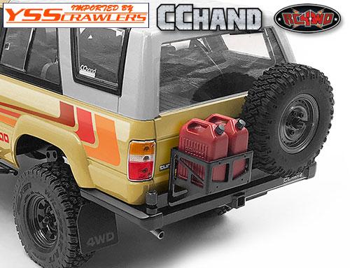 RC4WD ベルブロウド[Velbloud] リアバンパーA for 1985 ハイラックス!