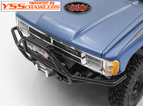 RC4WD Rhino Front Bumper w/IPF Lights for 1985 Toyota 4Runner Hard Body