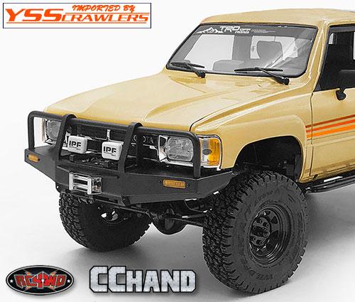RC4WD トラスト[Thrust] フロントバンパー for 1985 ハイラックス ボディー!