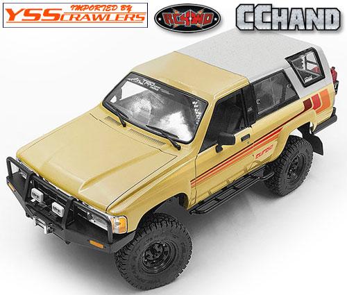 RC4WD トラスト[Thrust] フロントバンパー IPF for 1985 ハイラックス ボディー!