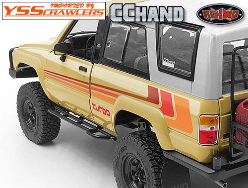 RC4WD チューブサイドスライダー for 1985 ハイラックス!