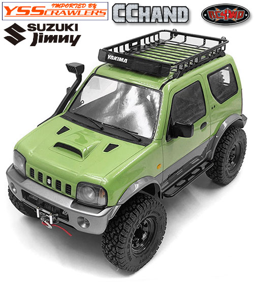 RC4WD ルーフラック カーゴ[Cargo] ライト for MST CMX ジムニー!