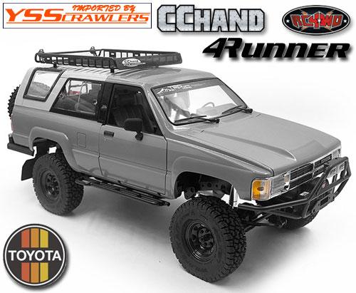 RC4WD ルーフラック チョイス[Choice] ライト for 1985 ハイラックス!