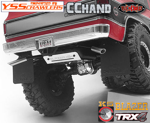 RC4WD Hood Deflector for Traxxas TRX-4 Chevy K5 Blazer